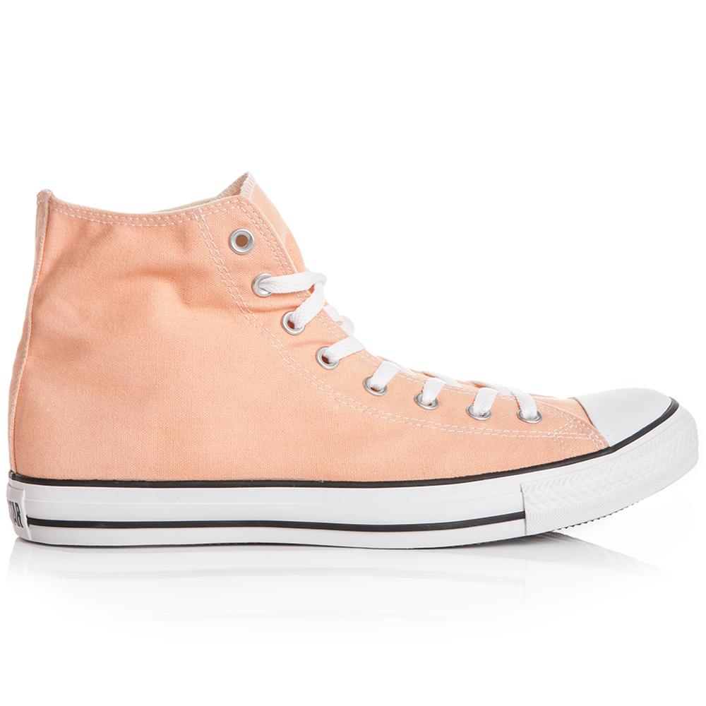 CONVERSE - Unisex μποτάκια Chuck Taylor σομόν ανδρικά παπούτσια sneakers