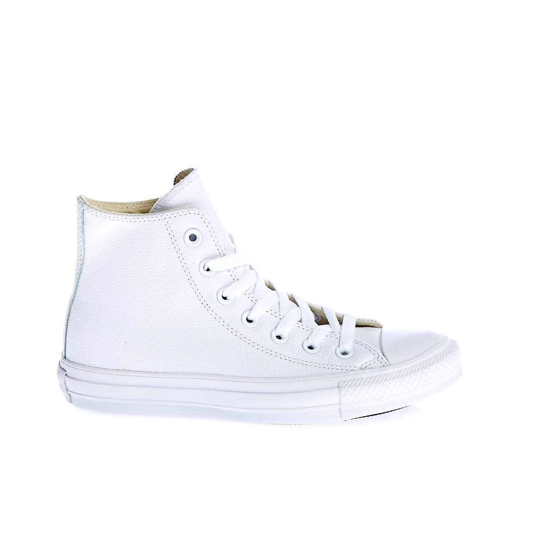 CONVERSE - Unisex παπούτσια Chuck Taylor All Star Hi λευκά γυναικεία παπούτσια sneakers
