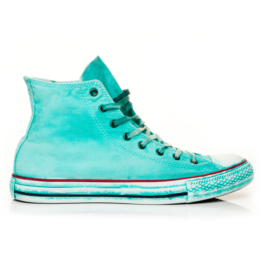 CONVERSE - Unisex μποτάκια Chuck Taylor γαλάζια ανδρικά παπούτσια sneakers