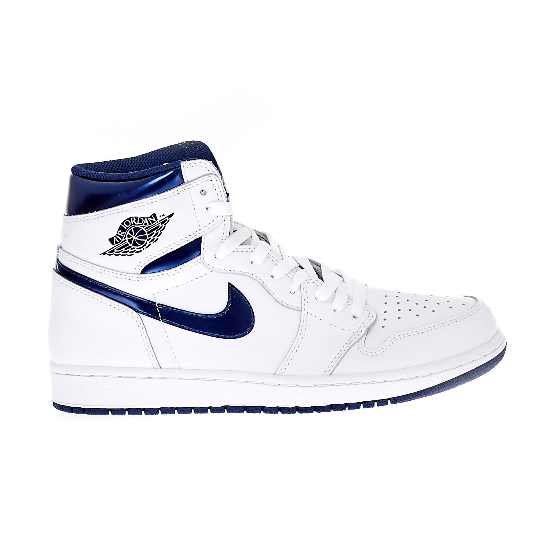 NIKE – Ανδρικά παπούτσια Nike AIR JORDAN 1 RETRO HIGH OG λευκά- ΑΠΟ ΓΚ