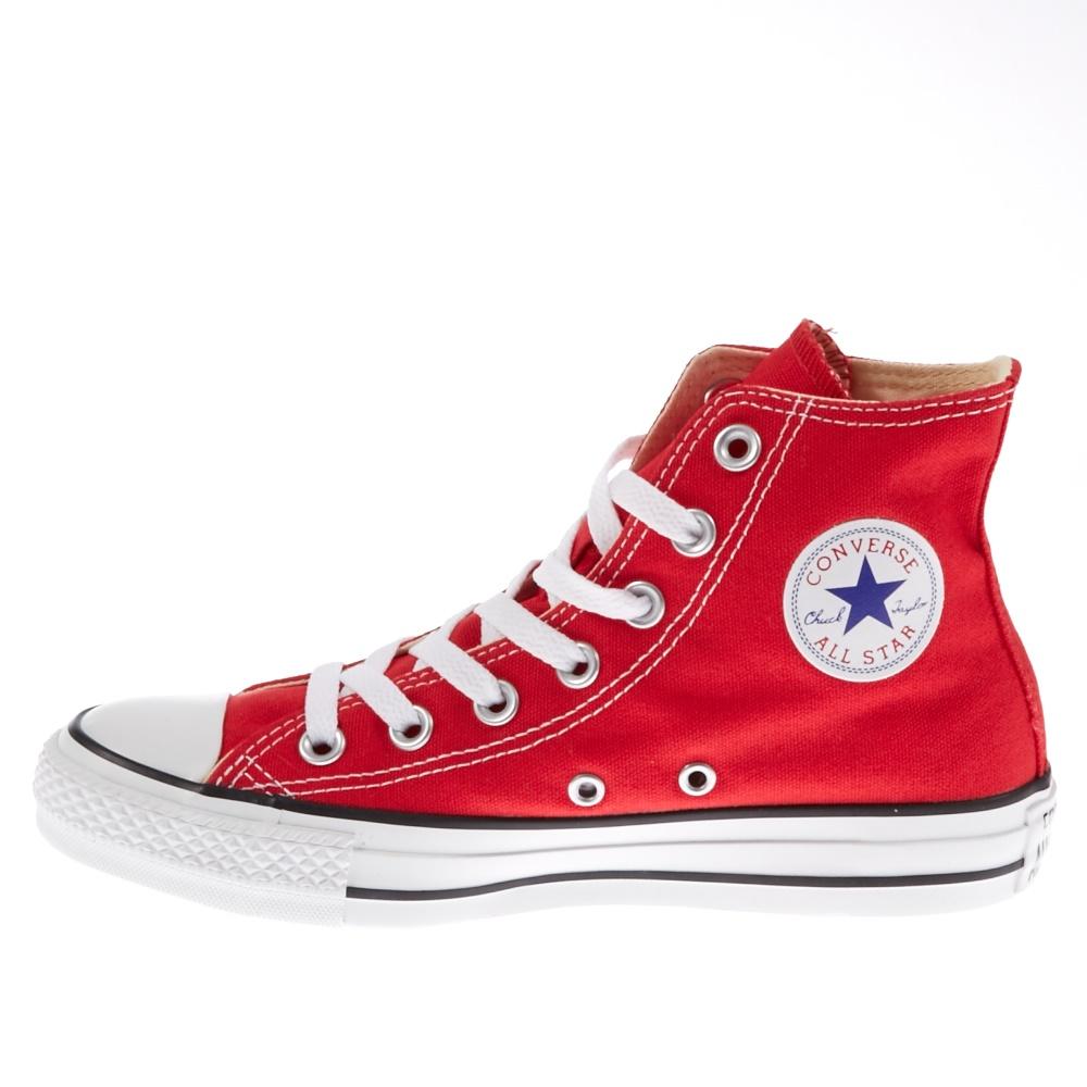 CONVERSE - Unisex μποτάκια Chuck Taylor κόκκινα ανδρικά παπούτσια sneakers