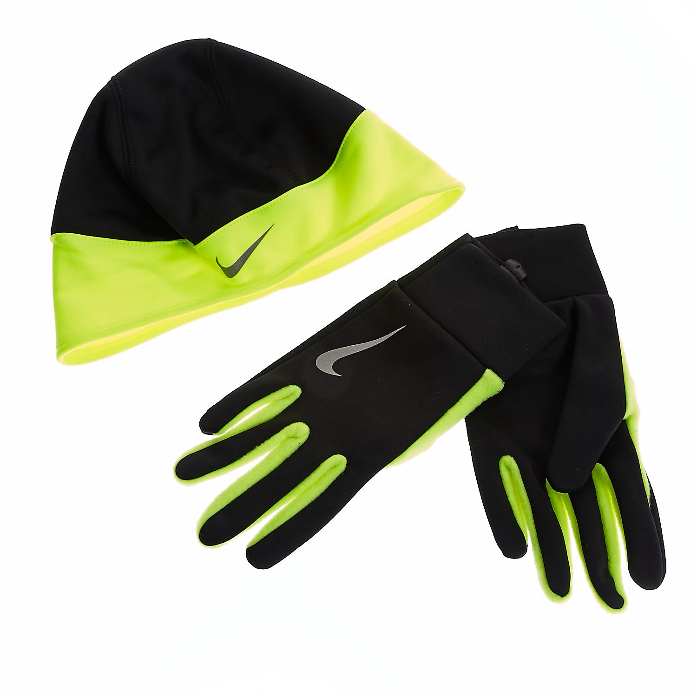 NIKE - Ανδρικό σετ Nike μαύρο ανδρικά αξεσουάρ καπέλα σκούφοι