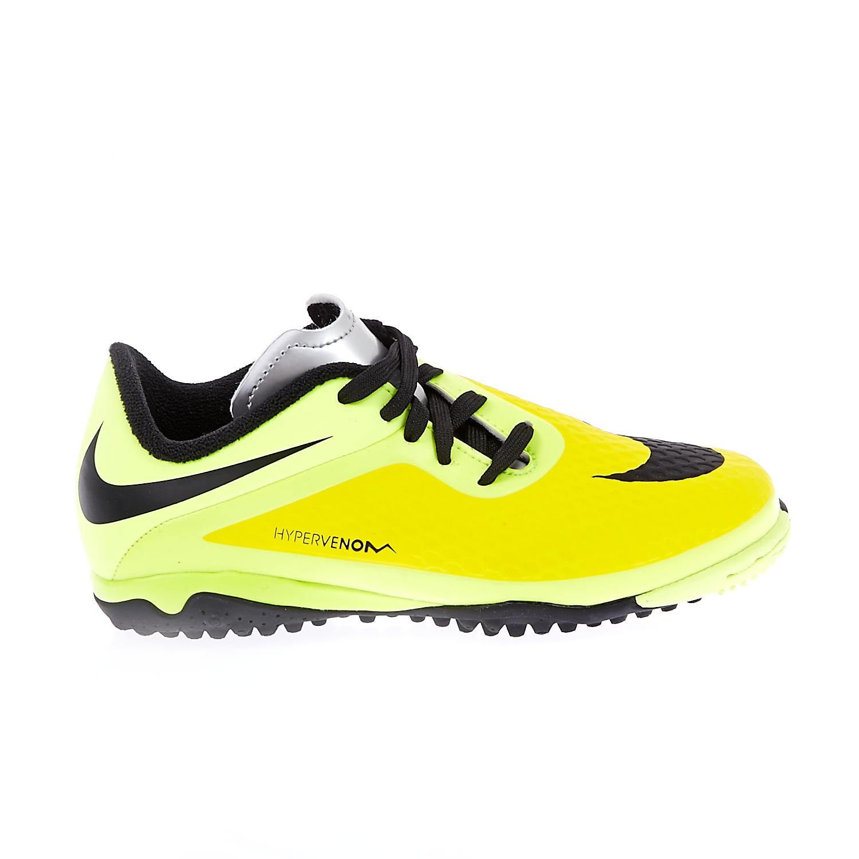 NIKE – Παιδικά παπούτσια football Nike Hypervenom Phelon TF κίτρινα