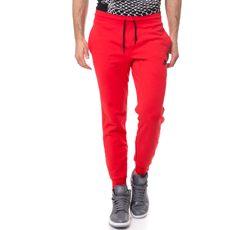 NIKE - Ανδρικό παντελόνι φόρμας NIKE AW77 κόκκινο ανδρικά ρούχα αθλητικά φόρμες