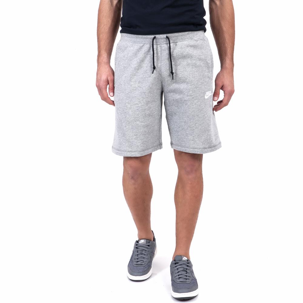NIKE - Ανδρική βερμούδα Nike γκρι ανδρικά ρούχα σορτς βερμούδες αθλητικά