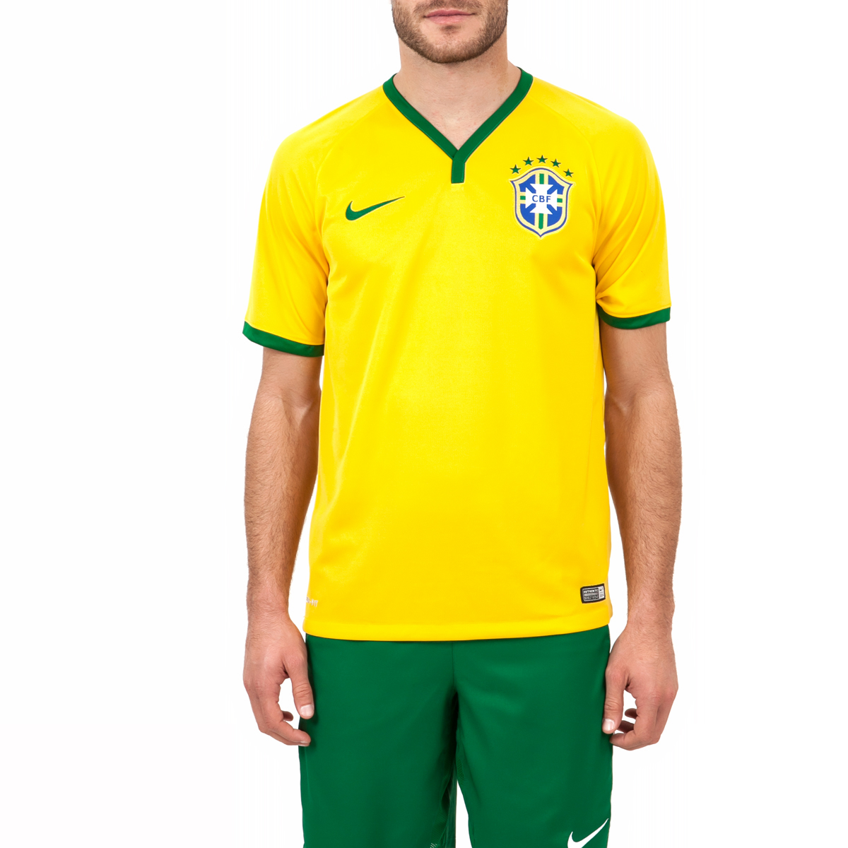 NIKE - Ανδρική μπλούζα Nike CBF κίτρινη ανδρικά ρούχα αθλητικά t shirt
