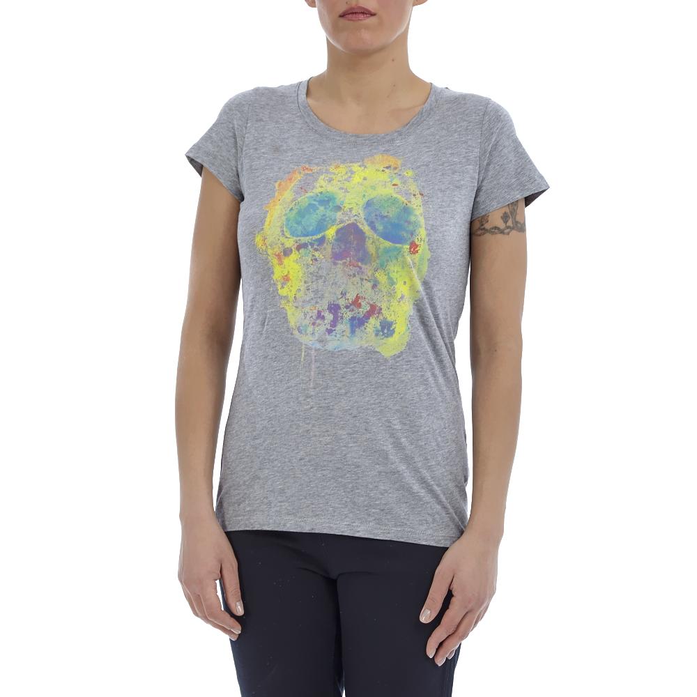 CONVERSE – Γυναικεία μπλούζα Converse γκρι