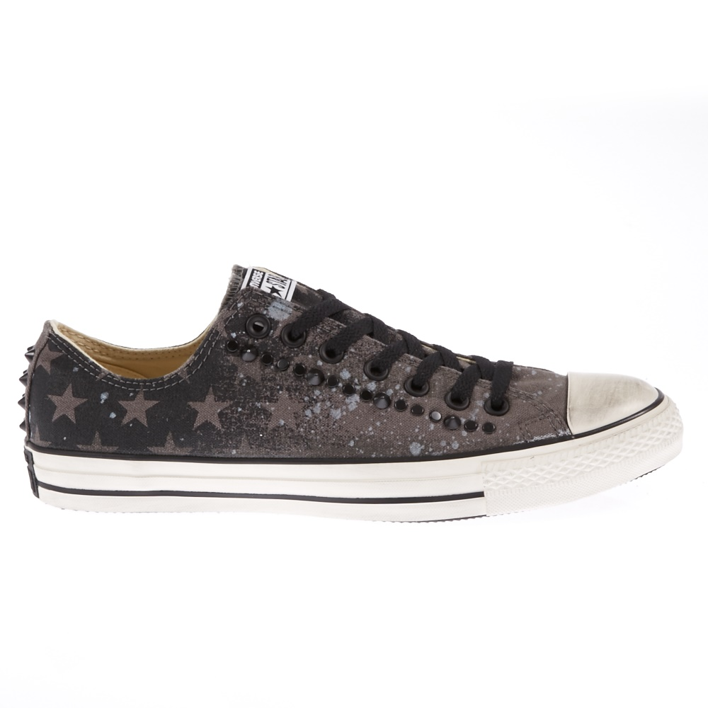CONVERSE - Unisex παπούτσια Chuck Taylor μαύρα-καφέ ανδρικά παπούτσια sneakers
