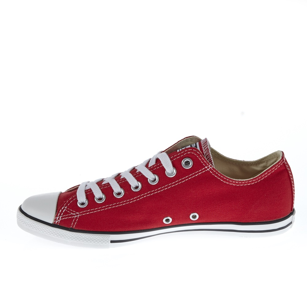 CONVERSE - Unisex παπούτσια Chuck Taylor All Star κόκκινα ανδρικά παπούτσια sneakers