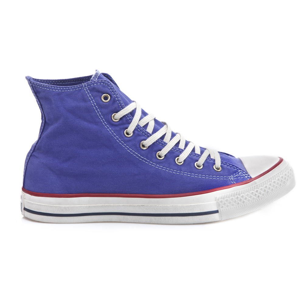 CONVERSE - Unisex Μποτάκια Chuck Taylor μωβ ανδρικά παπούτσια sneakers