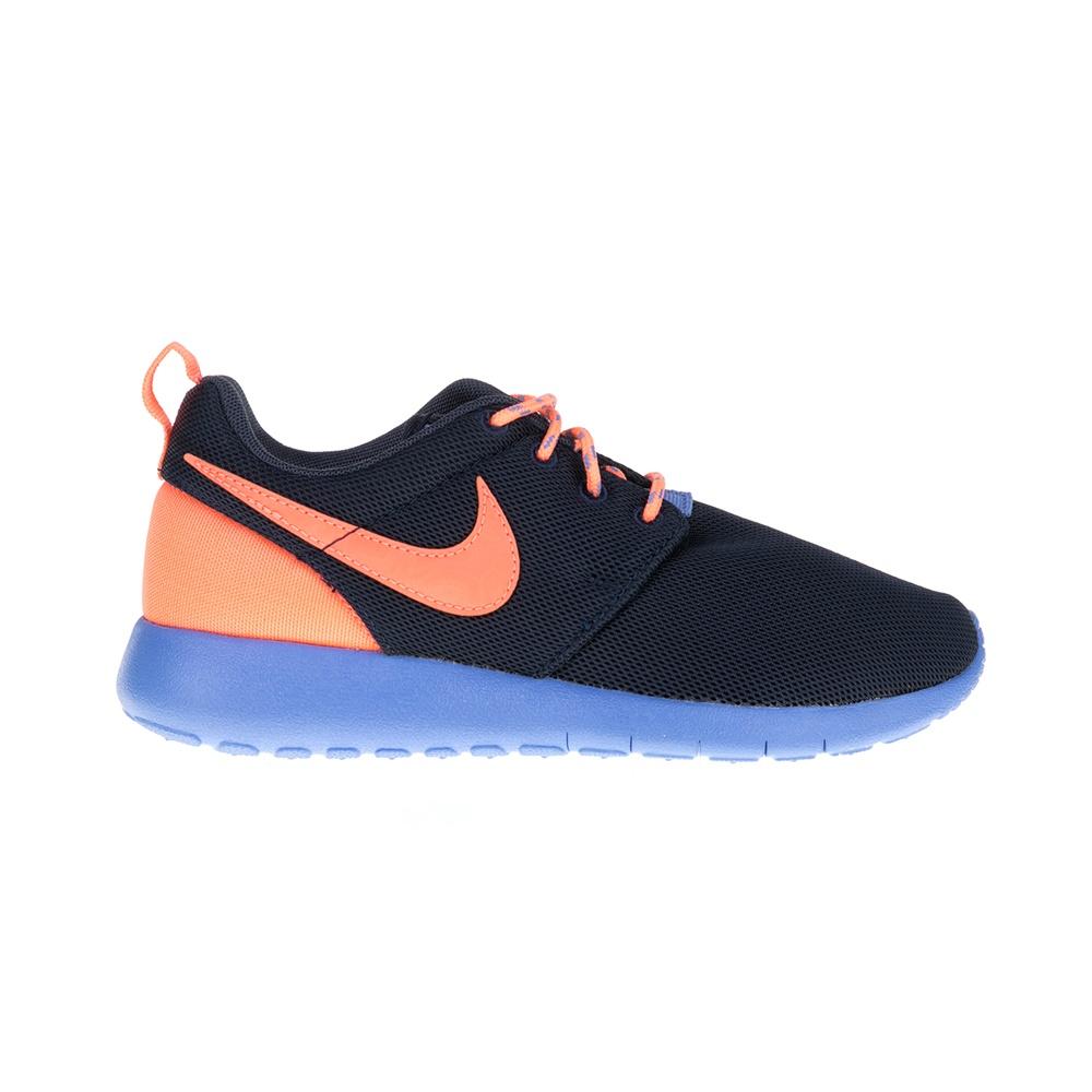 NIKE – Παιδικά παπούτσια NIKE ROSHE ONE μπλε-πορτοκαλί