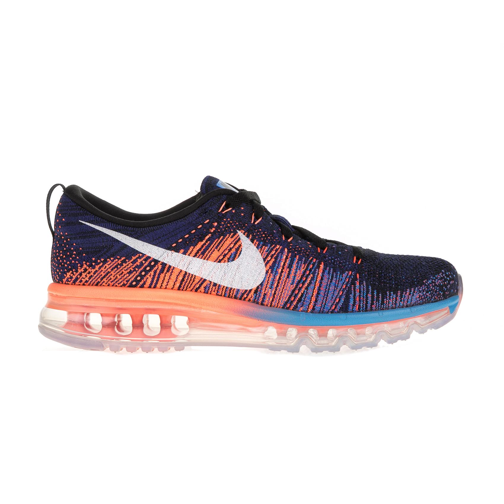 NIKE – Ανδρικά αθλητικά παπούτσια Nike FLYKNIT MAX μπλε – πορτοκαλί