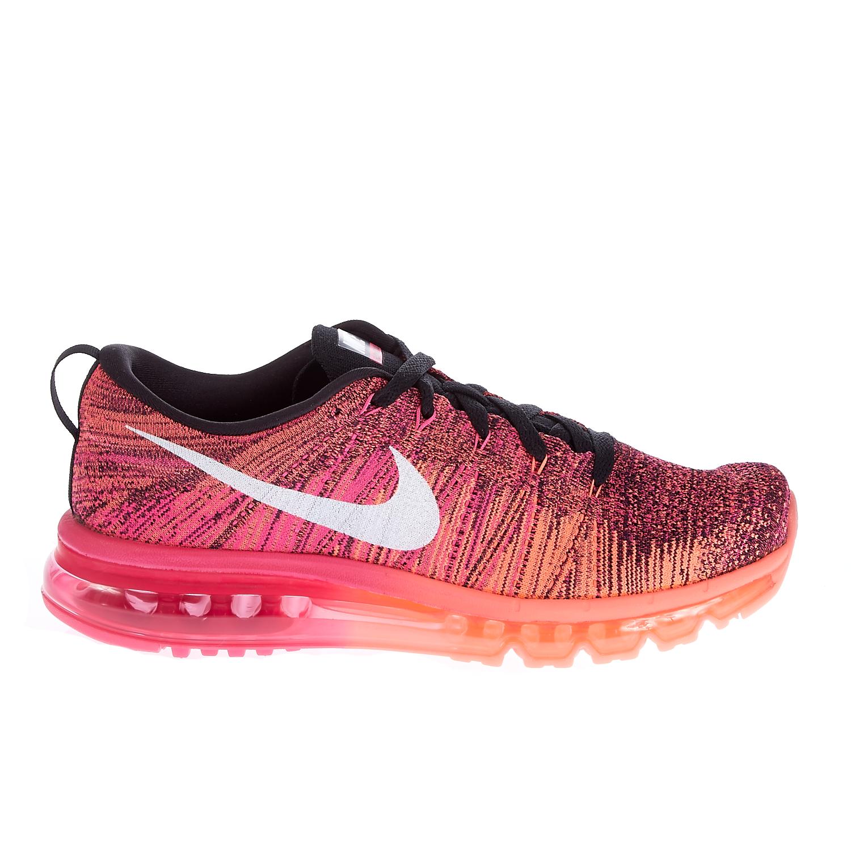 NIKE – Γυναικεία παπούτσια NIKE FLYKNIT MAX ροζ-σομών