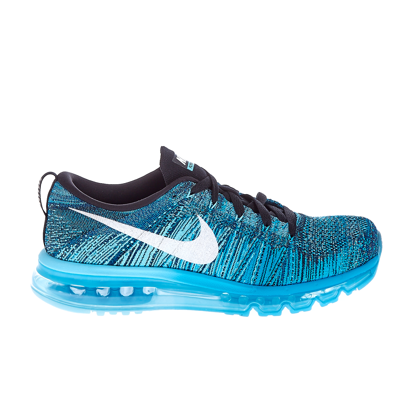 NIKE - Γυναικεία παπούτσια NIKE FLYKNIT MAX μπλε