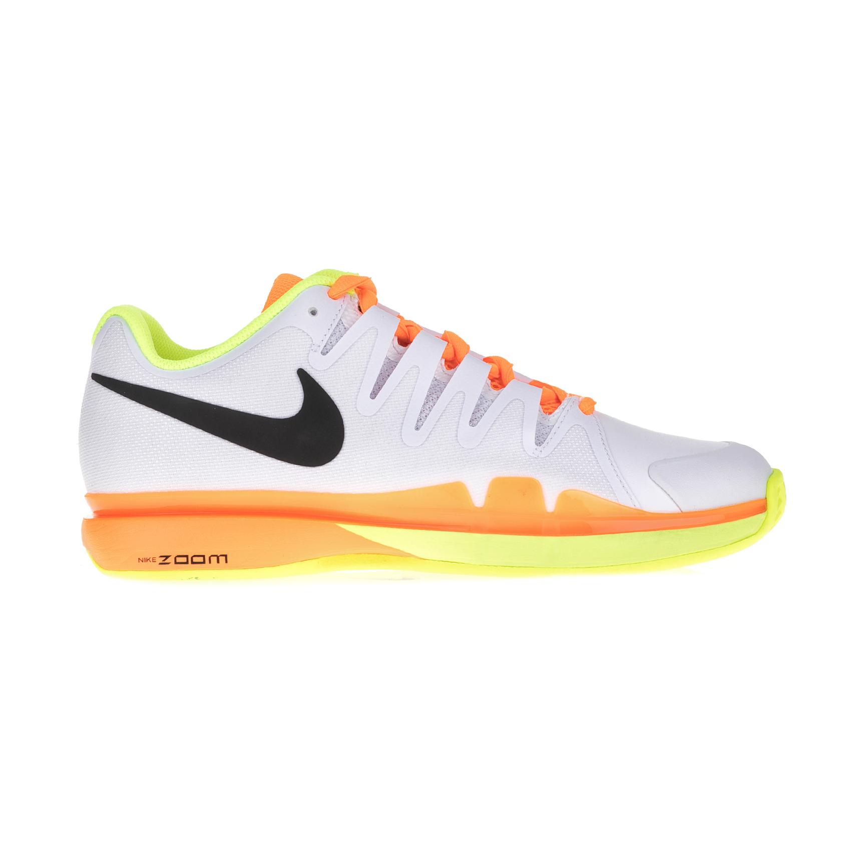 NIKE – Ανδρικά παπούτσια τένις Nike ZOOM VAPOR 9.5 TOUR CLAY λευκά – πορτοκαλί