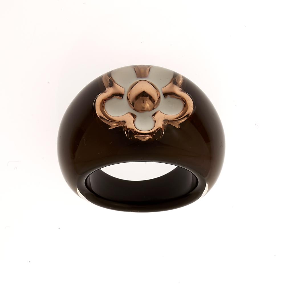 FOLLI FOLLIE – Γυναικείο δαχτυλίδι Folli Follie καφέ