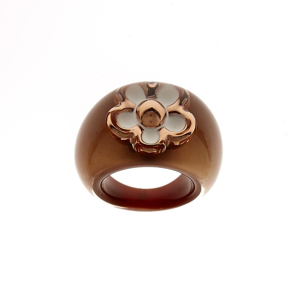 FOLLI FOLLIE – Γυναικείο δαχτυλίδι Folli Follie μπεζ