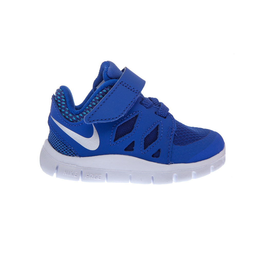 NIKE - Βρεφικά παπούτσια NIKE FREE 5 μπλε