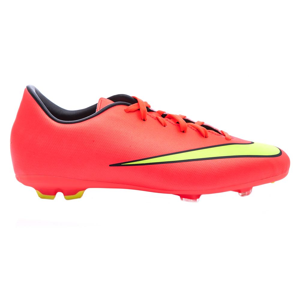 NIKE - Παιδικά παπούτσια football Nike Mercurial Victory JR ροζ-κόκκινα