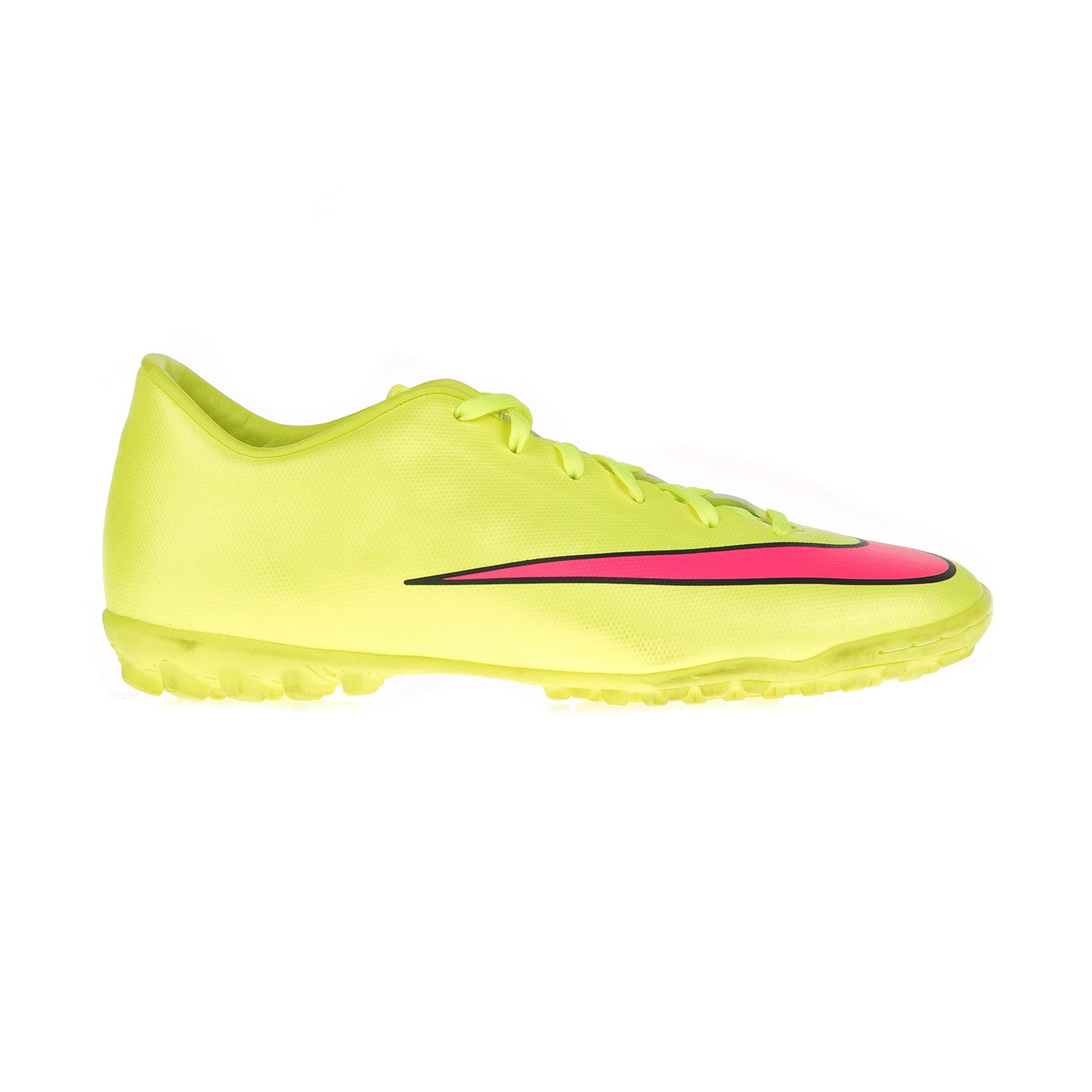 NIKE – Ανδρικά παπούτσια ποδοσφαίρου Nike MERCURIAL VICTORY V TF κίτρινα