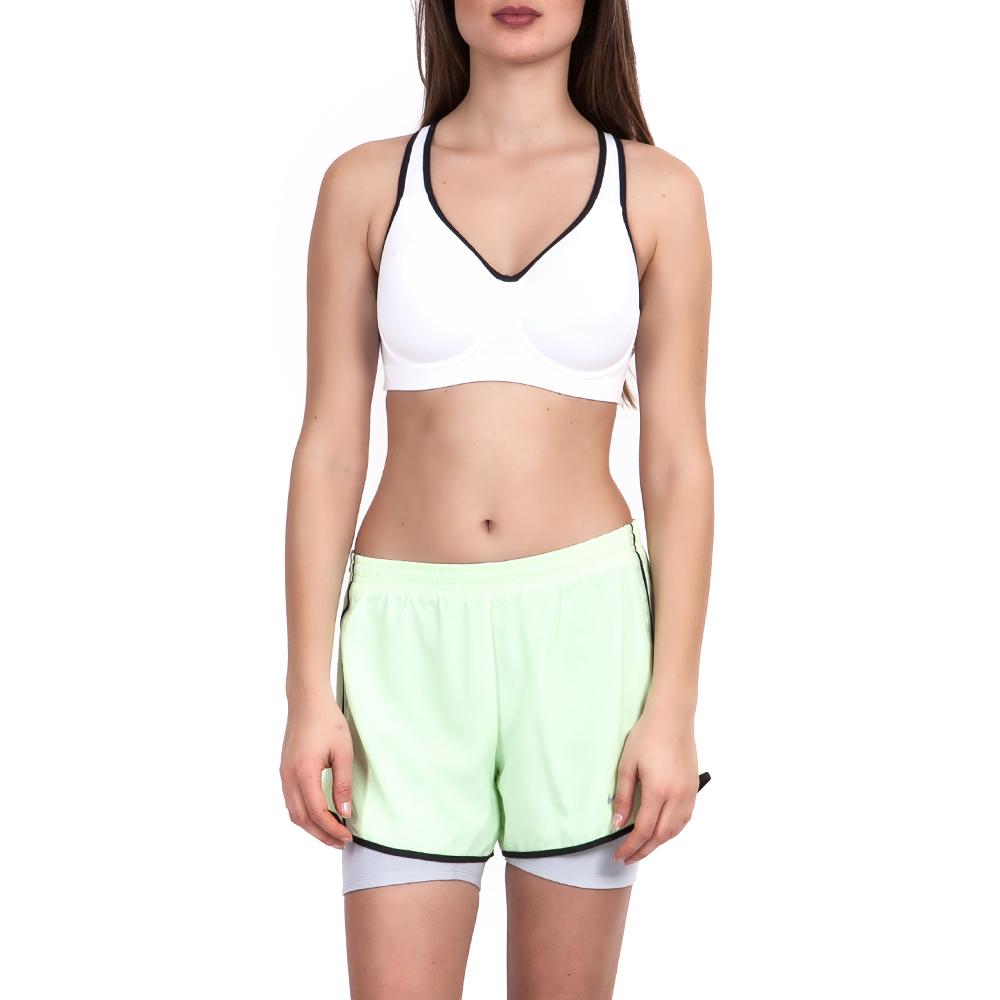 NIKE - Γυναικείο μπουστάκι-σουτιέν Nike λευκό γυναικεία ρούχα αθλητικά μπουστάκια