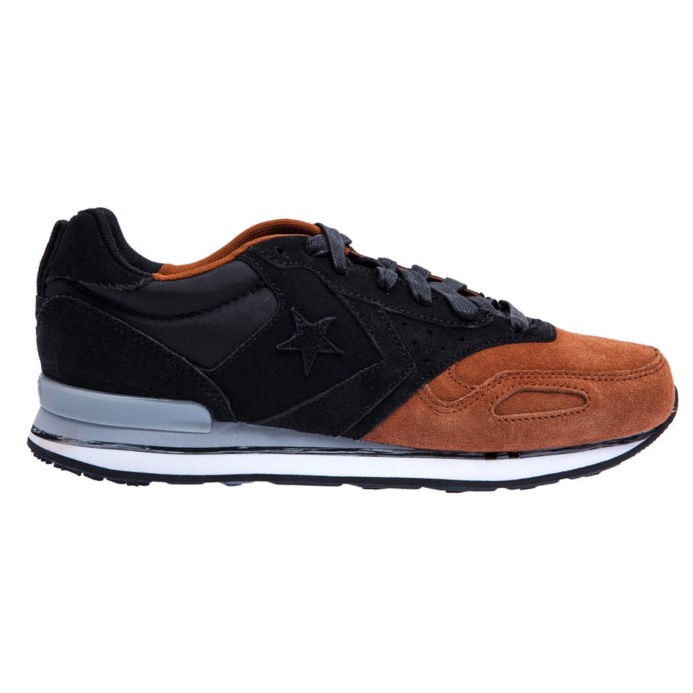 CONVERSE – Unisex παπούτσια Malden Racer μαύρα-καφέ