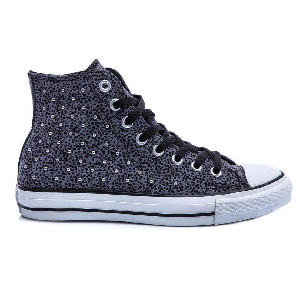 CONVERSE - Γυναικεία παπούτσια Chuck Taylor γκρι-μαύρο γυναικεία παπούτσια sneakers