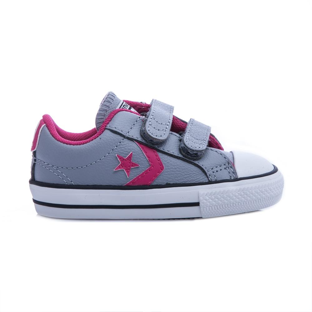 CONVERSE – Βρεφικά παπούτσια Star Player γκρι