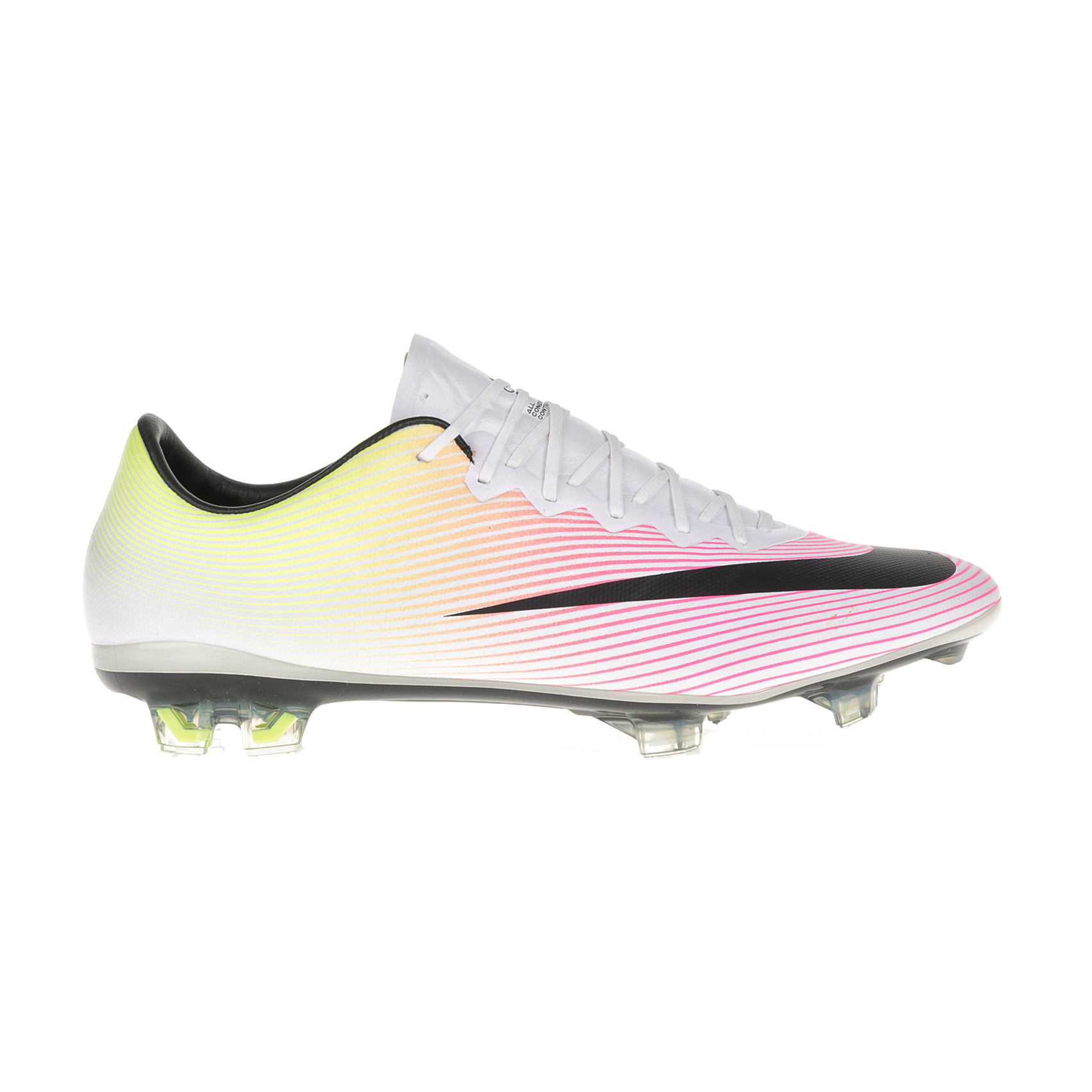 NIKE – Ανδρικά παπούτσια ποδοσφαίρου Nike MERCURIAL VAPOR X FG λευκά – ροζ