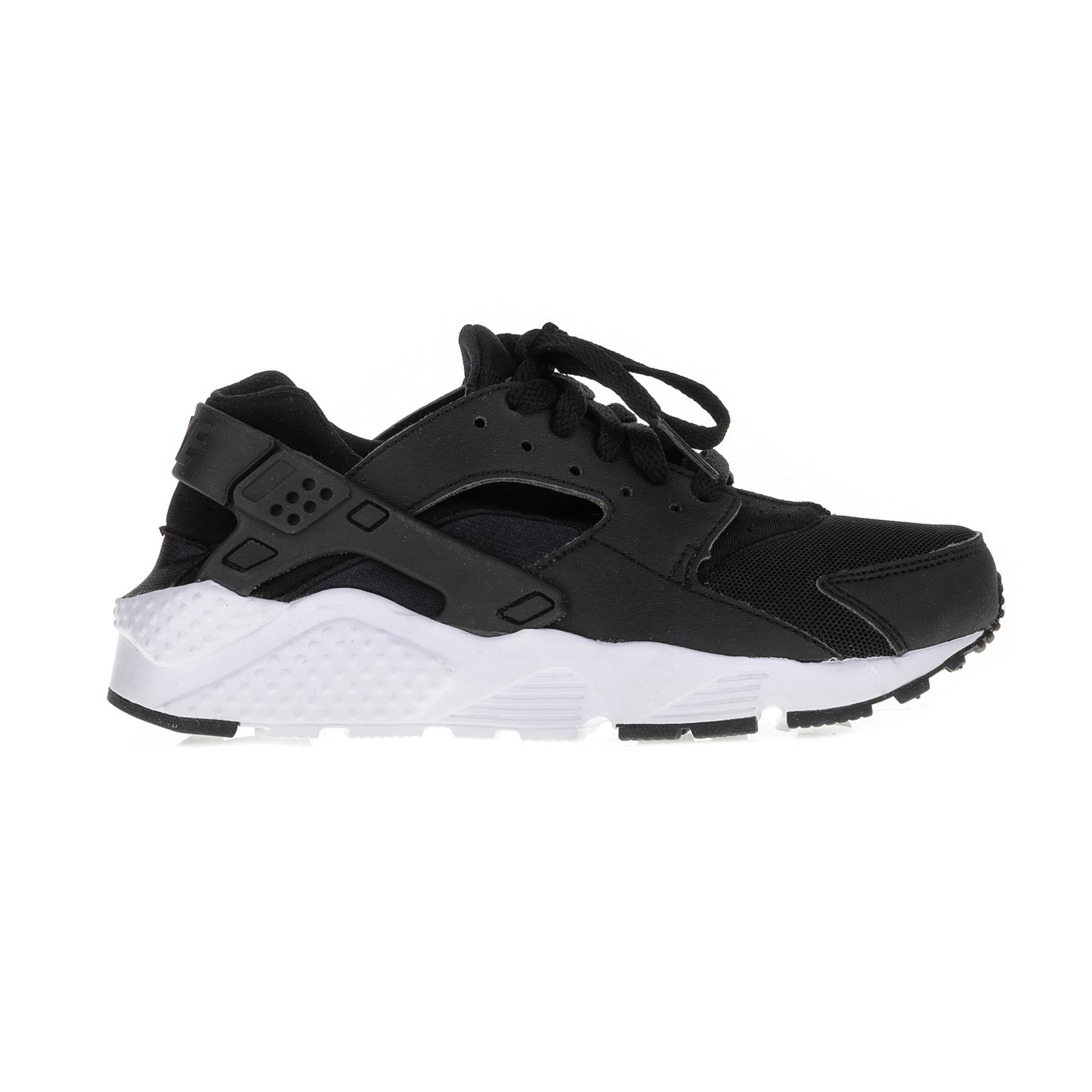 NIKE – Παιδικά αθλητικά παπούτσια Nike HUARACHE RUN (GS) μαύρα – λευκά