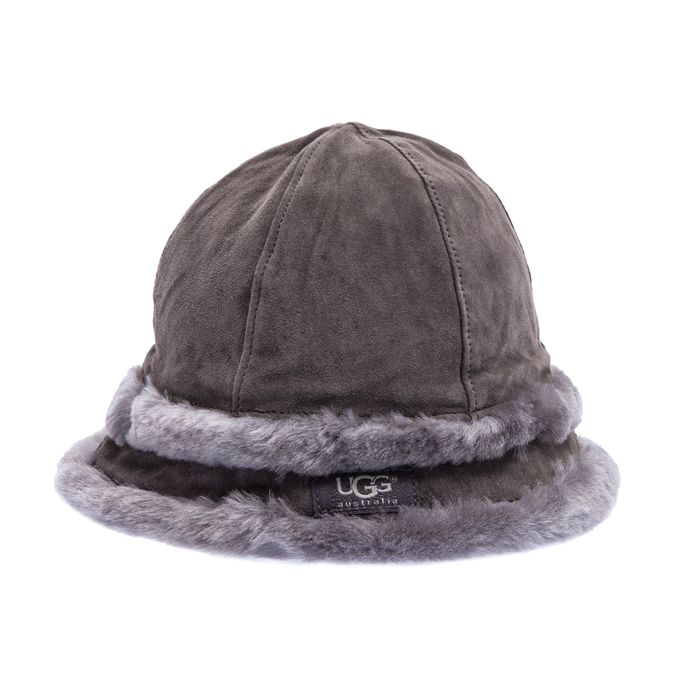 UGG AUSTRALIA - Γυναικείο καπέλο Ugg Australia γκρι γυναικεία αξεσουάρ καπέλα casual