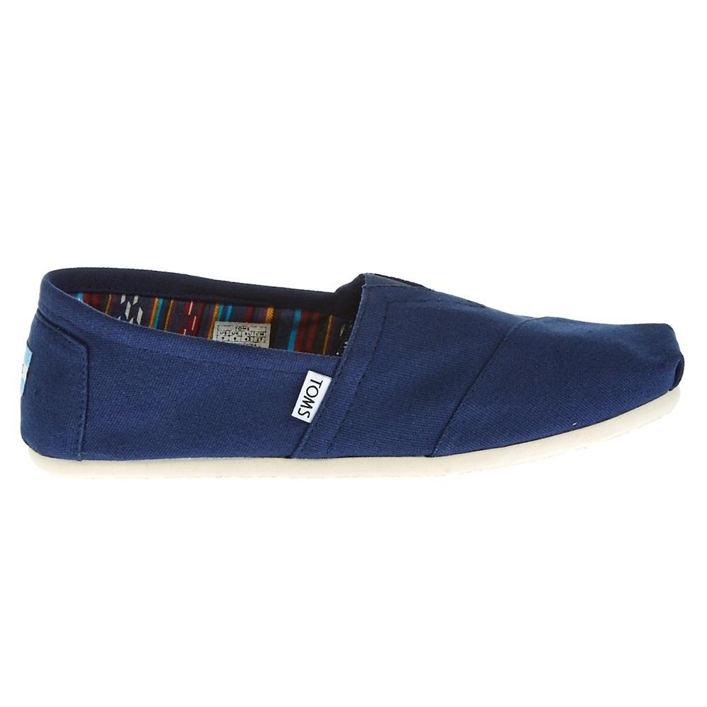 TOMS - Ανδρικές εσπαντρίγιες TOMS μπλε ανδρικά παπούτσια εσπαντρίγιες