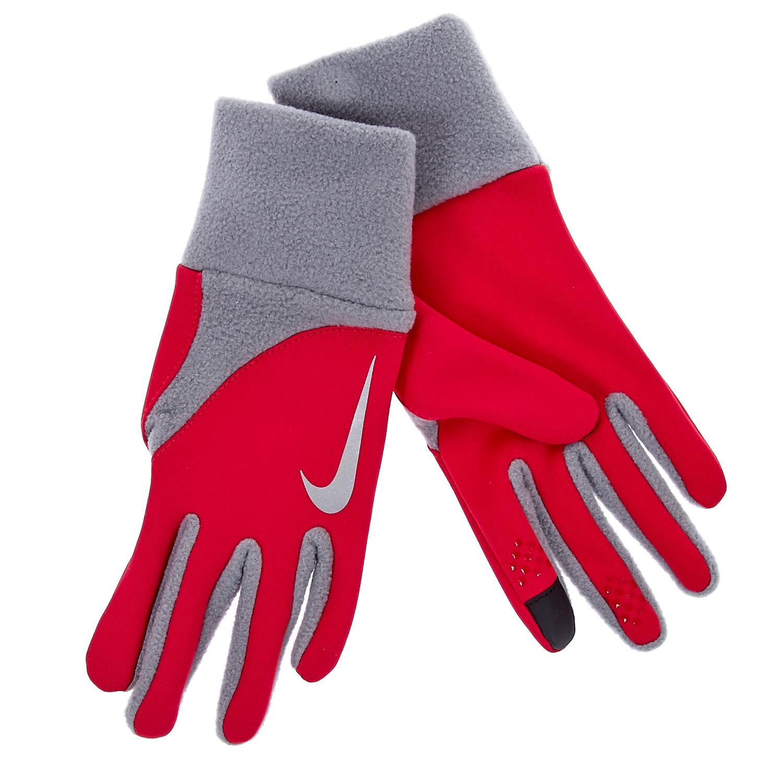 NIKE - Γυναικεία γάντια προπόνησης Nike κόκκινα γυναικεία αξεσουάρ φουλάρια κασκόλ γάντια