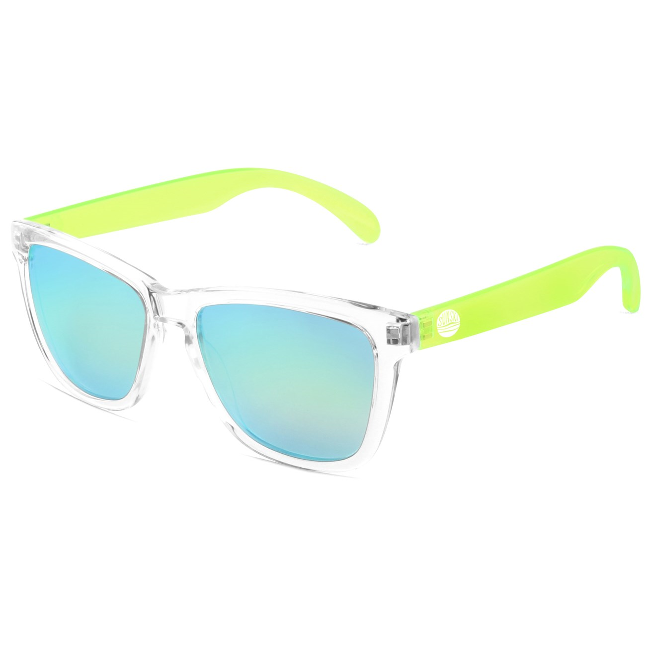 SUNSKI - Γυαλιά ηλίου SUNSKI διάφανα-lime