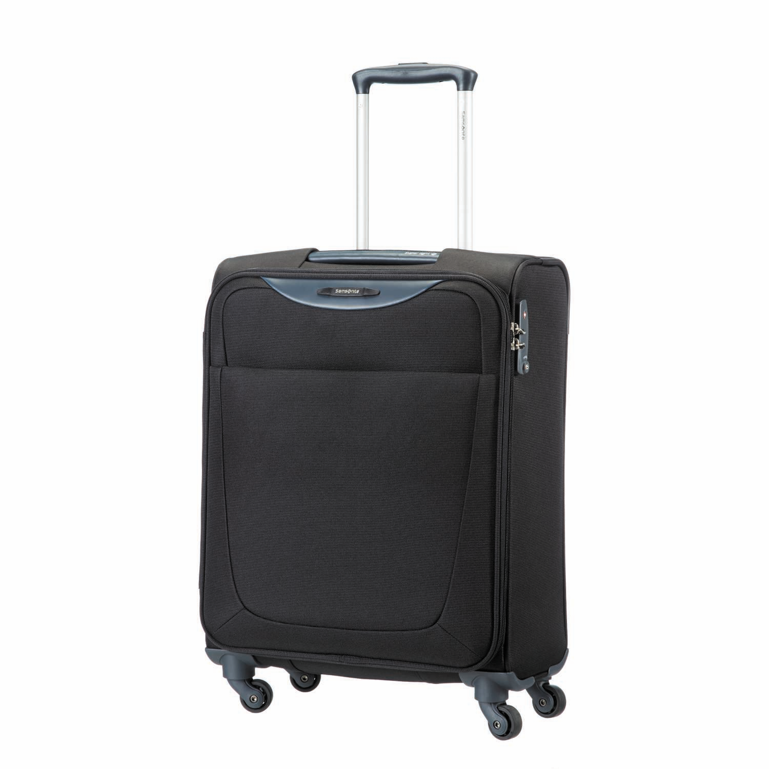 SAMSONITE (TRAVEL) – Βαλίτσα BASEHITS SPINNER 55/20 Samsonite μαύρη
