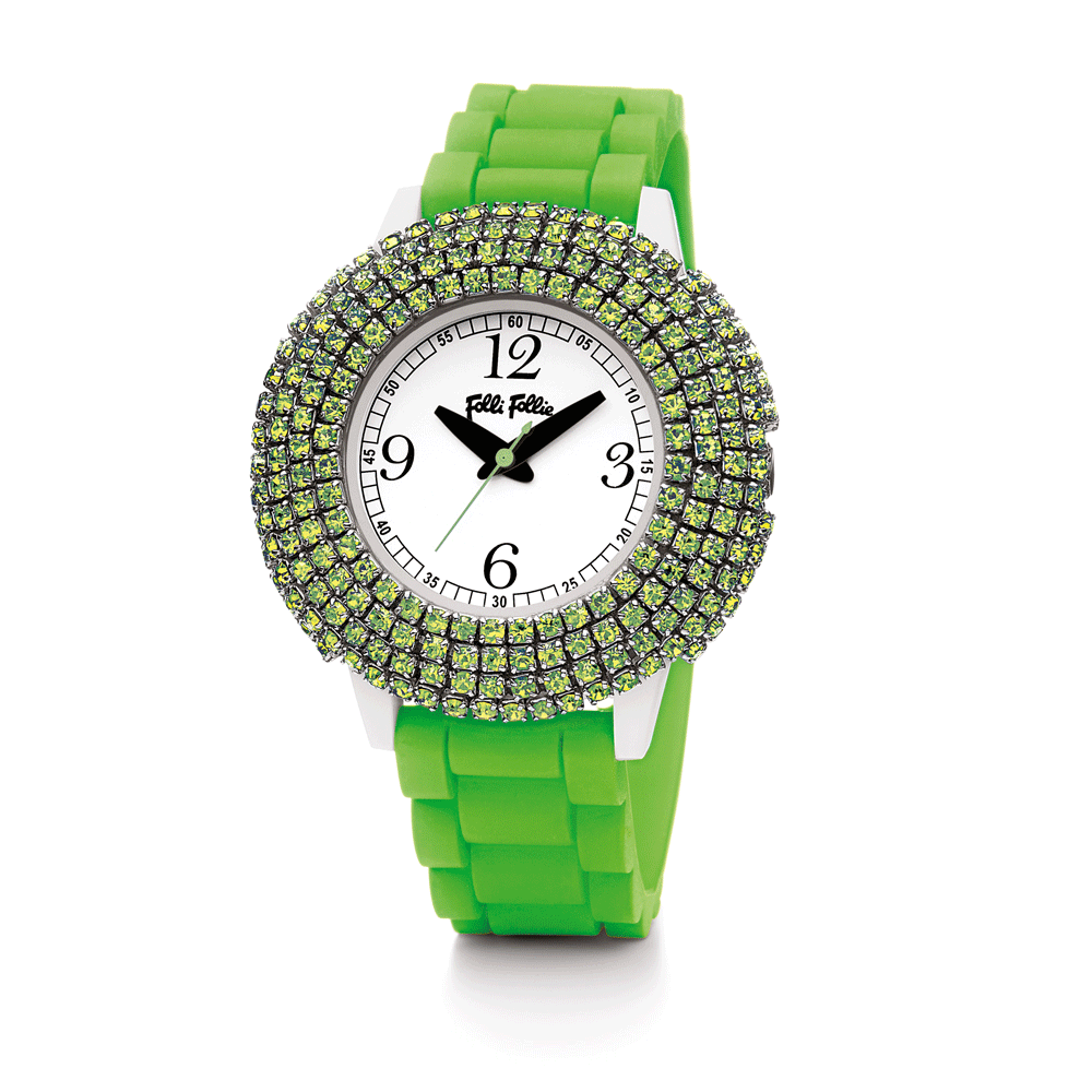 FOLLI FOLLIE – Γυναικείο ρολόι Folli Follie πράσινο