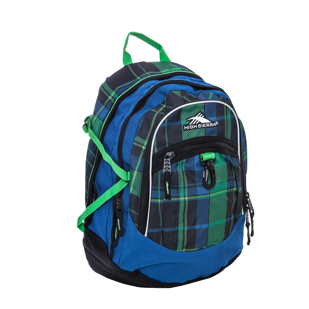 HIGH SIERRA – Σακίδιο πλάτης High Sierra μπλε-πράσινο