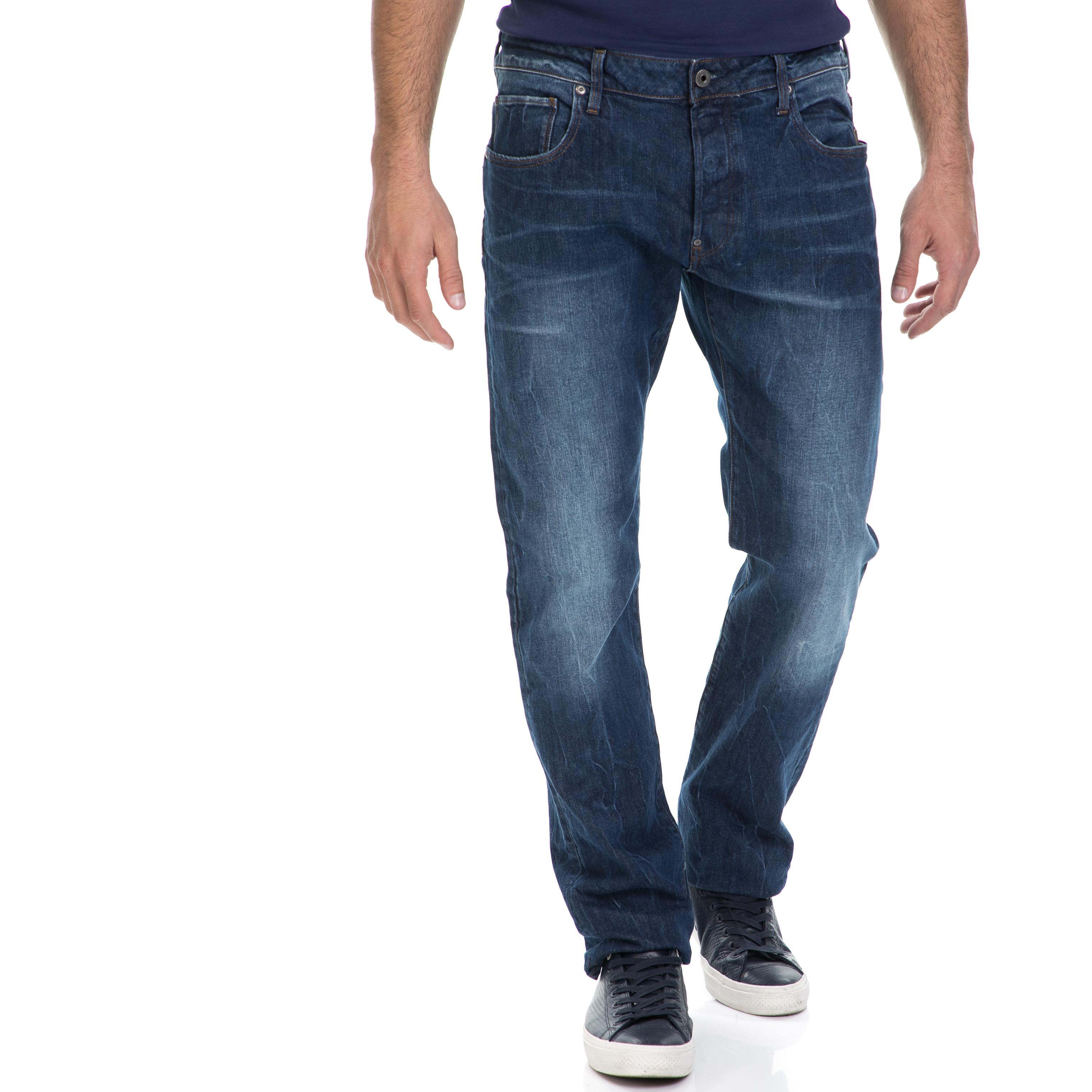 G-STAR - Ανδρικό τζιν παντελόνι defend G-STAR μπλε ανδρικά ρούχα παντελόνια jean