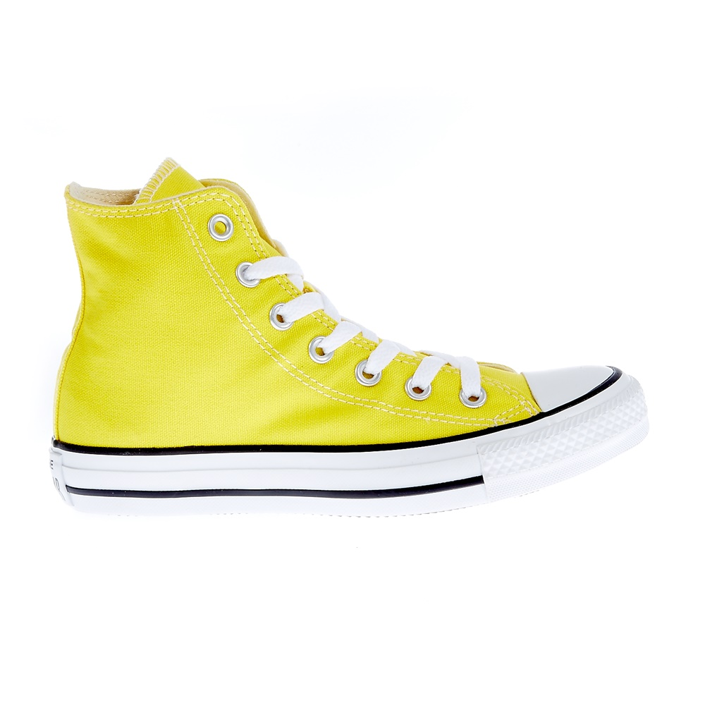 CONVERSE - Unisex μποτάκια Chuck Taylor κίτρινα γυναικεία παπούτσια sneakers