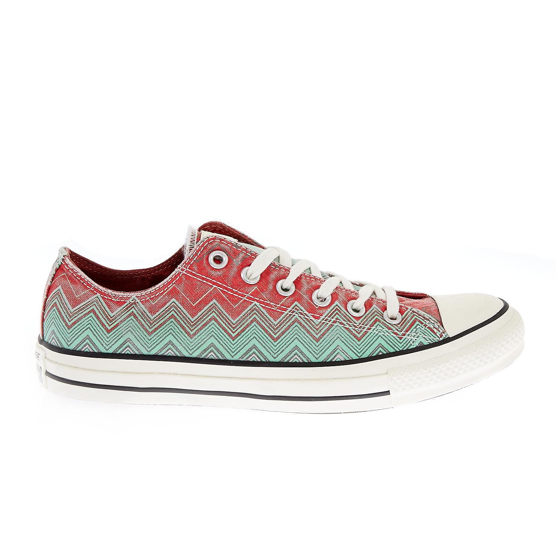 CONVERSE – Γυναικεία παπούτσια Chuck Taylor All Star πράσινα-κόκκινα