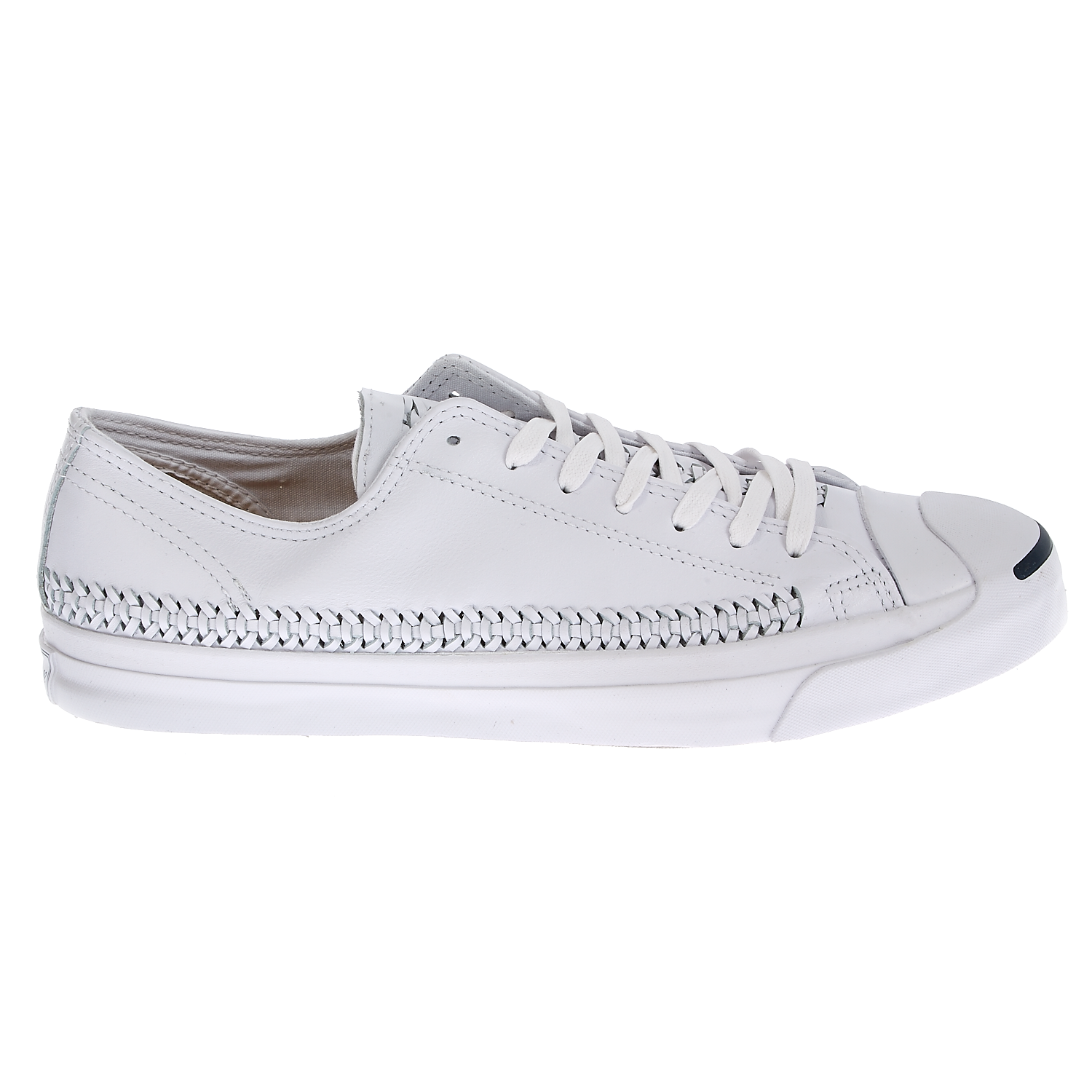 CONVERSE - Unisex παπούτσια Jack Purcell Jack Woven λευκά