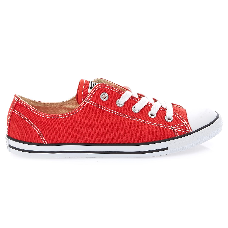 CONVERSE – Γυναικεία παπούτσια Chuck Taylor κόκκινα