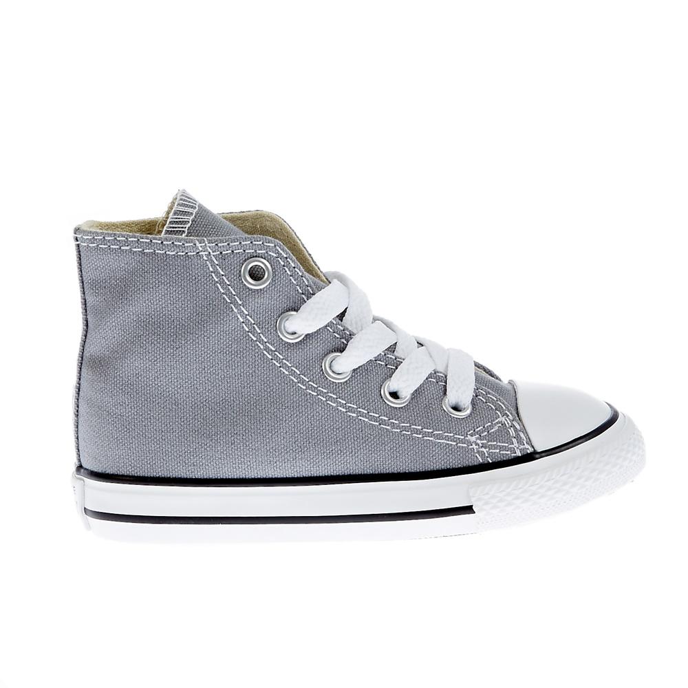 CONVERSE – Βρεφικά παπούτσια Chuck Taylor γκρι