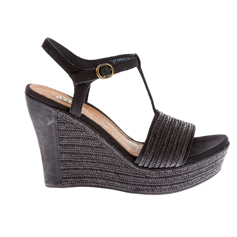 UGG - Γυναικείες πλατφόρμες Ugg Austalia μαύρες γυναικεία παπούτσια πλατφόρμες