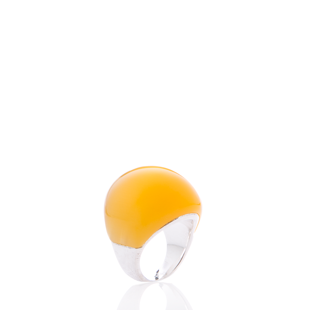 FOLLI FOLLIE – Γυναικείο δαχτυλίδι Folli Follie κίτρινο