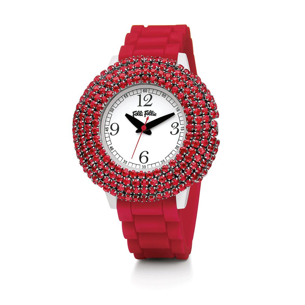 FOLLI FOLLIE – Γυναικείο ρολόι Tempera κόκκινο