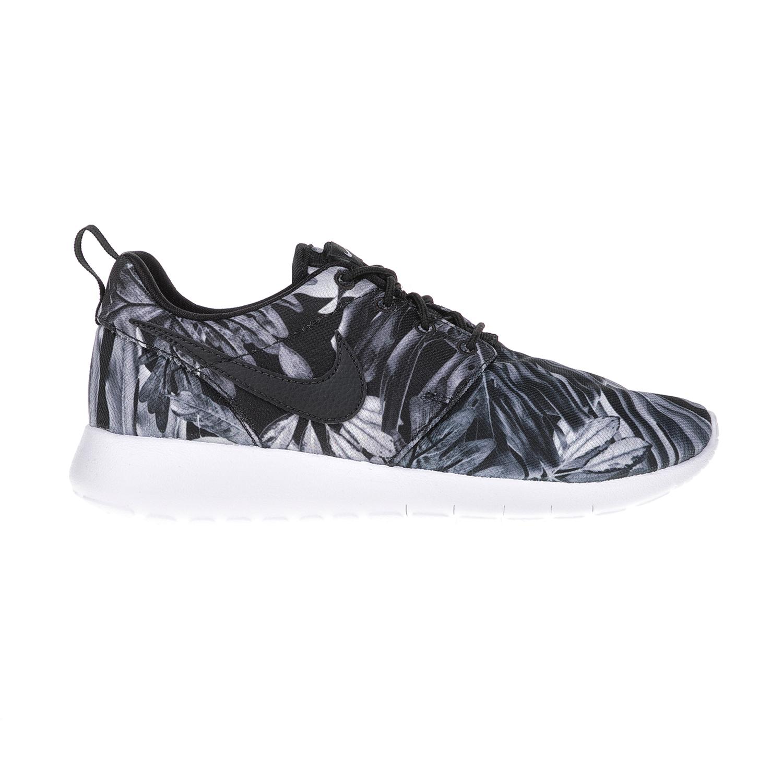 NIKE – Παιδικά παπούτσια NIKE ROSHE ONE PRINT (GS) άσπρα – μάυρα