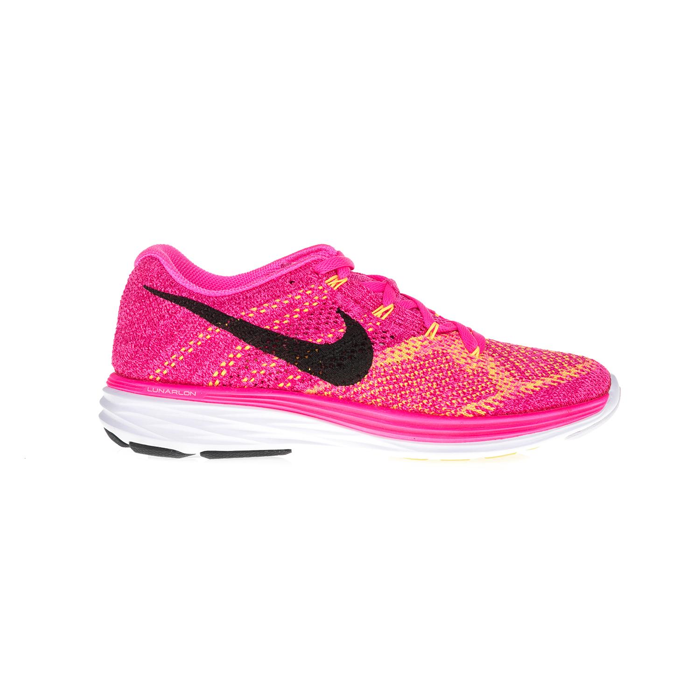 NIKE – Γυναικεία παπούτσια NIKE FLYKNIT LUNAR3 φούξια