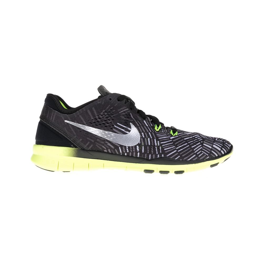 NIKE - Γυναικεία παπούτσια NIKE FREE 5.0 TR FIT 5 PRT μαύρα-γκρι γυναικεία παπούτσια αθλητικά training