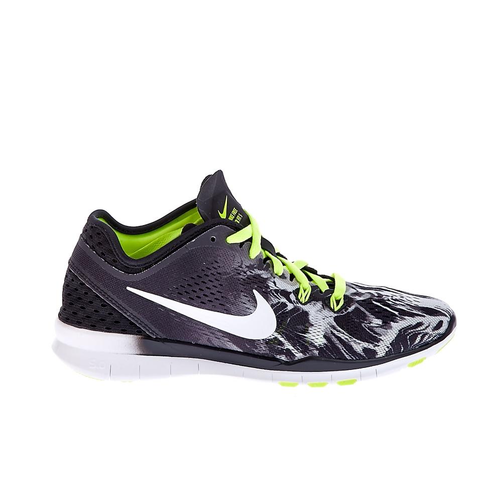 NIKE - Γυναικεία παπούτσια NKE FREE 5.0 TR FIT 5 μαύρα-λευκά γυναικεία παπούτσια αθλητικά training
